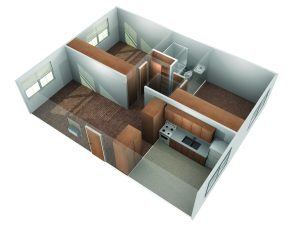 ES King Two Bedroom Apartment