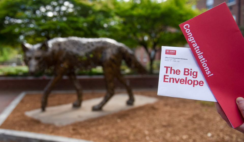 Big Red Envelope #NCState22