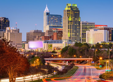 Photo of downtown Raleigh